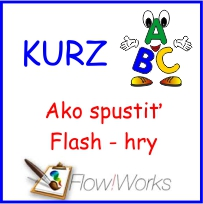 Video kurz Flow!Works - Ako spustiť Flash hry